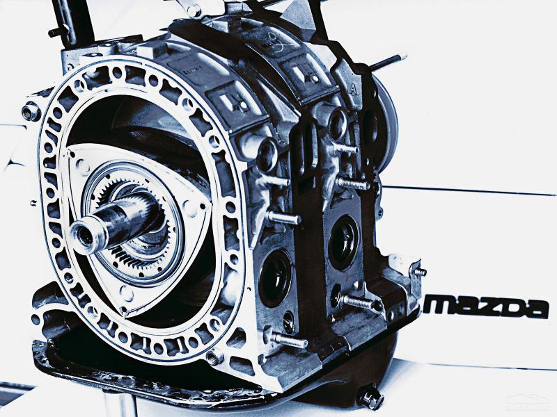 Роторных двигателей мазды