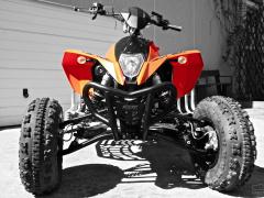 KTM 525 MXC Desert Racing