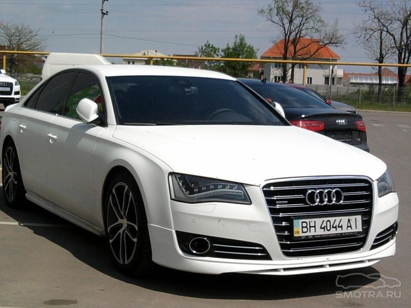 Матовая Audi A8 ABT