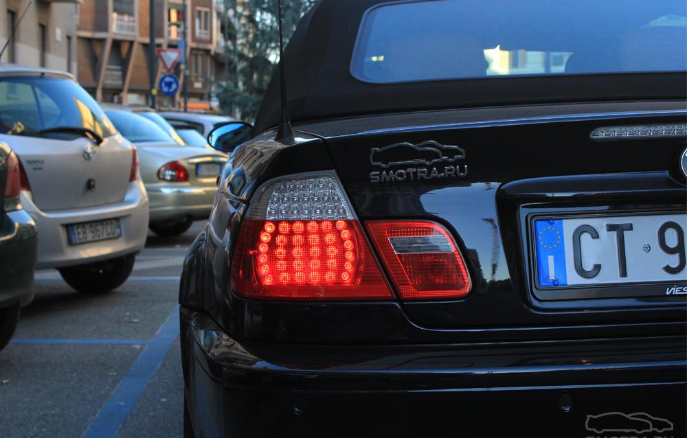BMW M3 Cabrio (E46) Dark blue