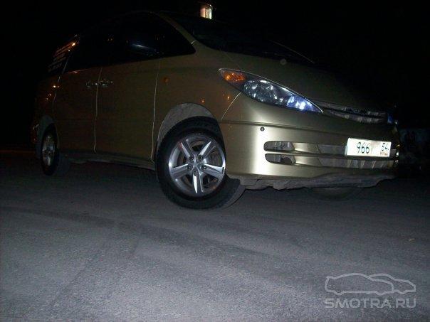 Toyota Estima Золотой Быдломобиль ПРОДАН