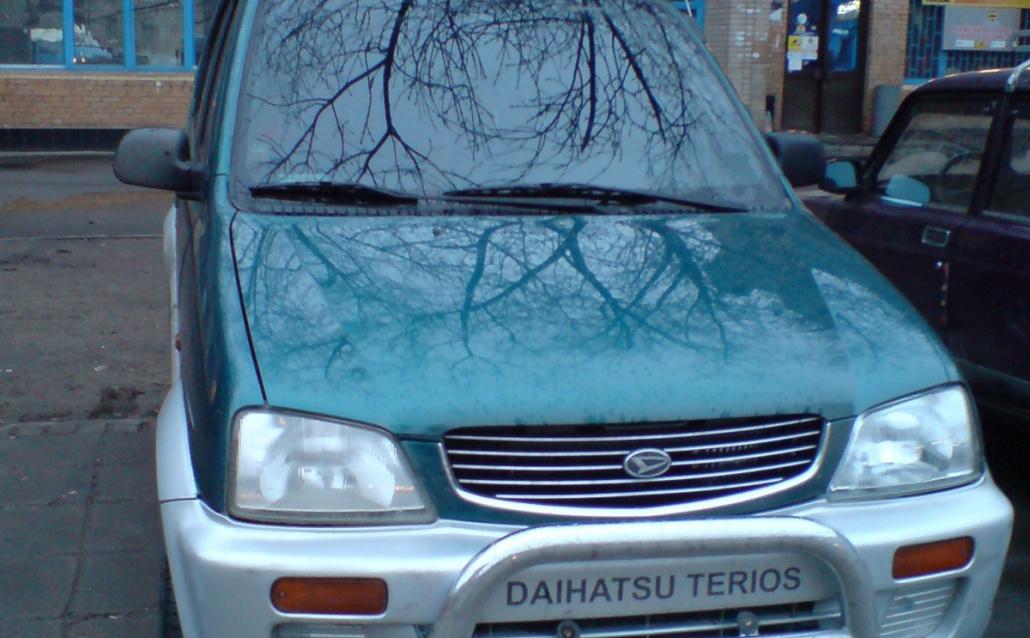 Daihatsu Terios (J1) Мальенький да удаленький.日本語