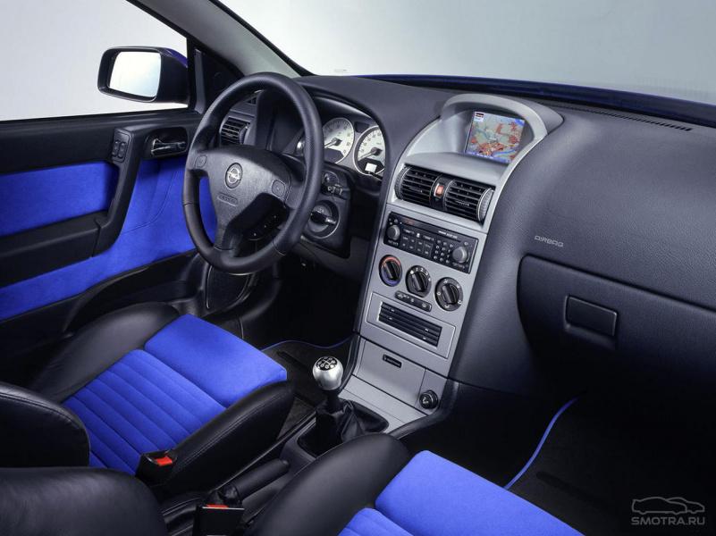 Opel Astra купе.