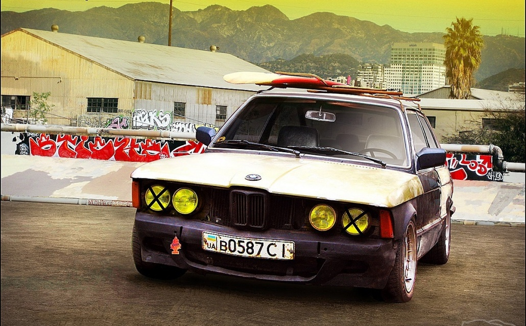 BMW 3er (E21) ALPINистка