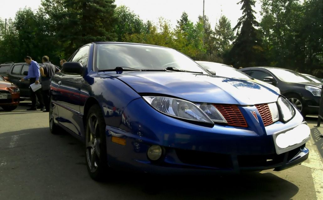 Pontiac Sunfire Coupe Синяя птица