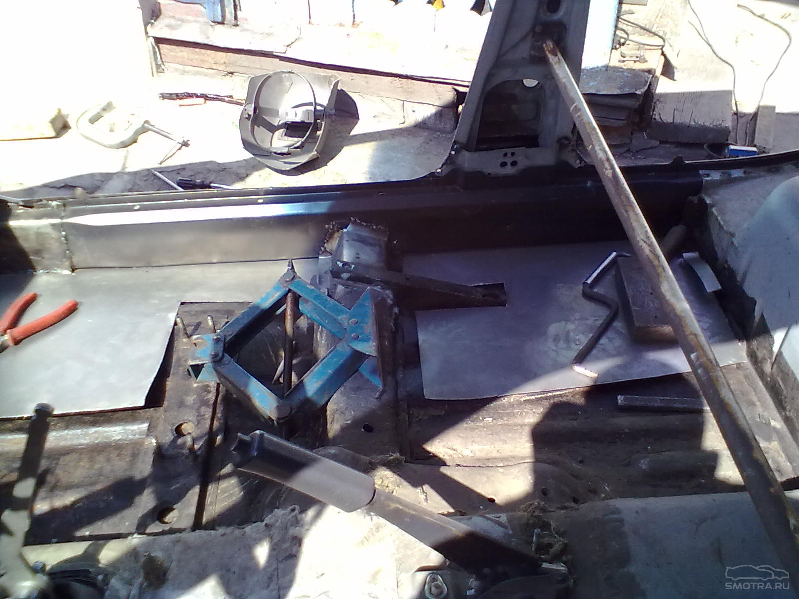 Фото №28 - ВАЗ 2110 ремонт кузова своими руками
