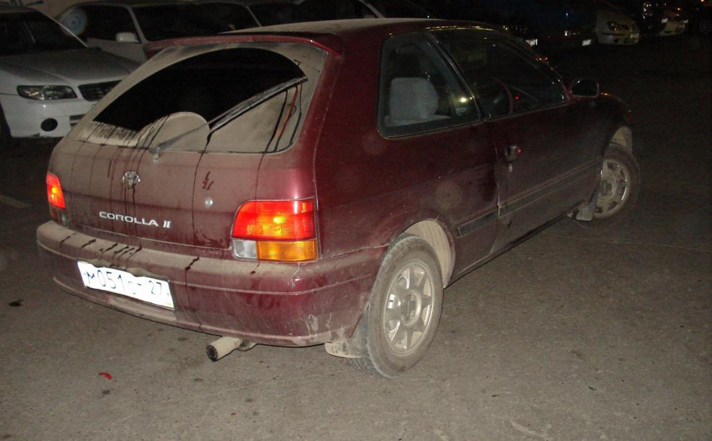 Toyota Corsa Hatchback Нету кликухи