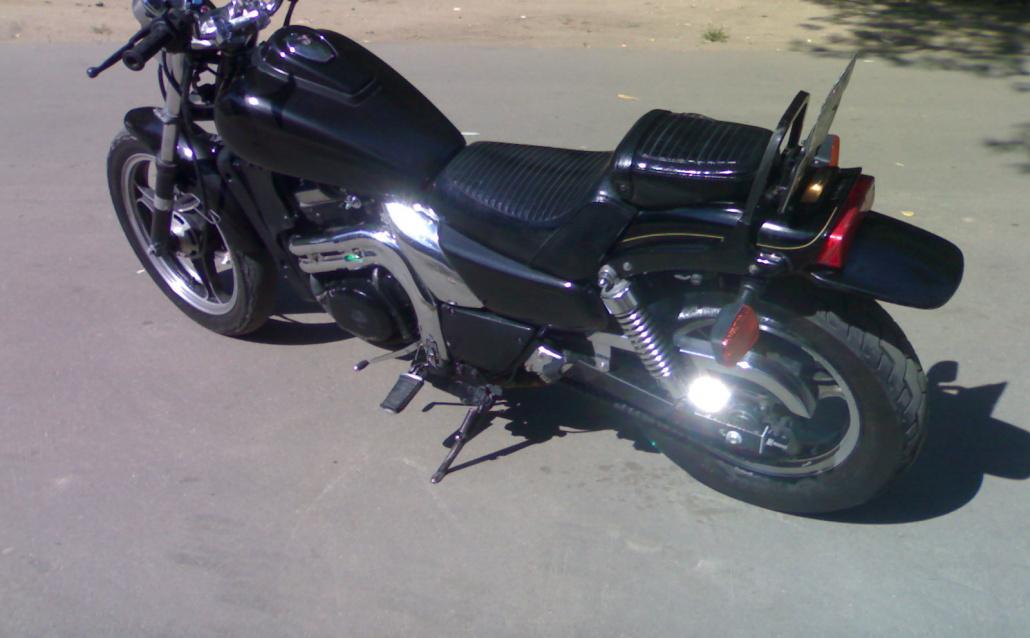 Honda Z Kawasaki EL250