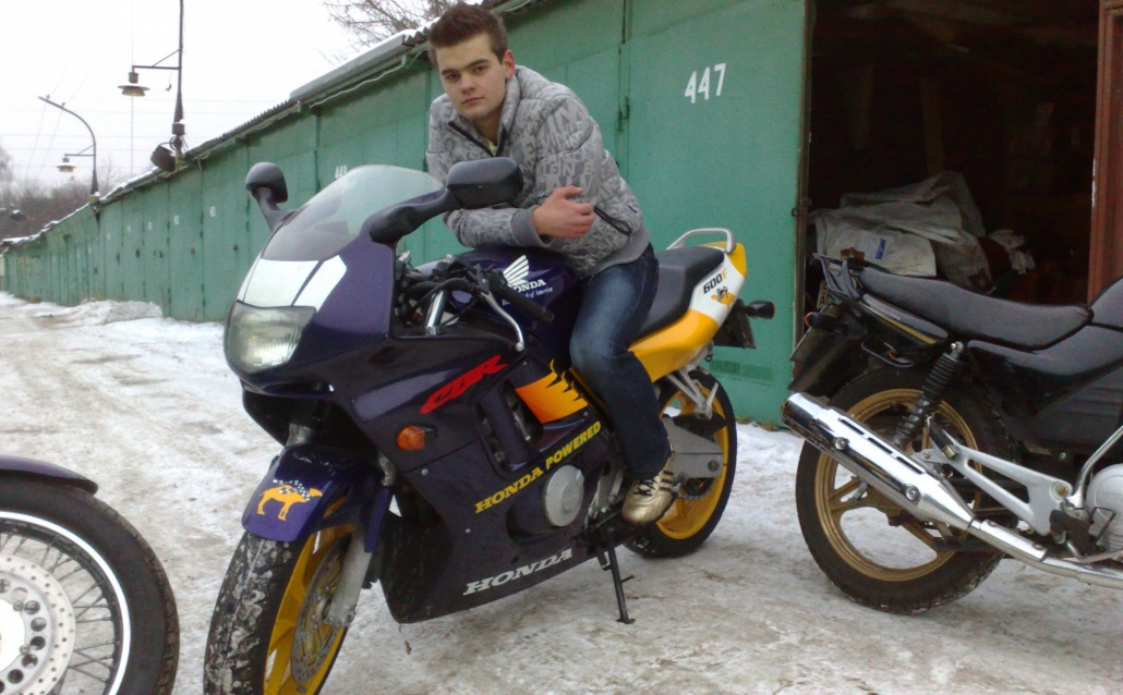 Друг  CBR600 F3  Smoking Joe's