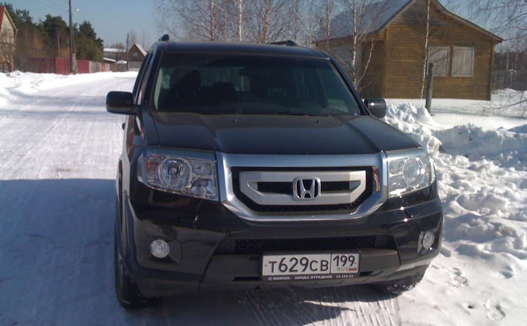 Honda Pilot II Танк