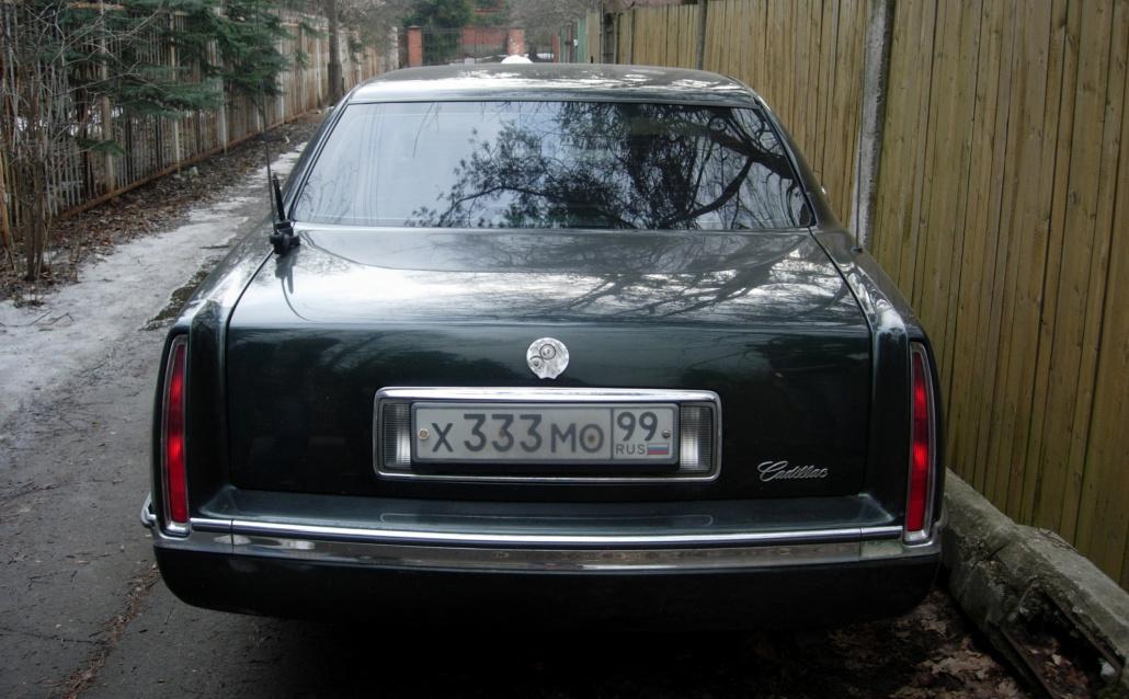 Cadillac De Ville IX Бывший