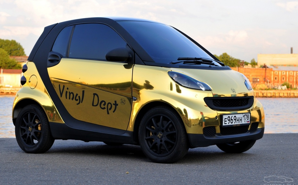 Smart Fortwo II coupe Gold Microb