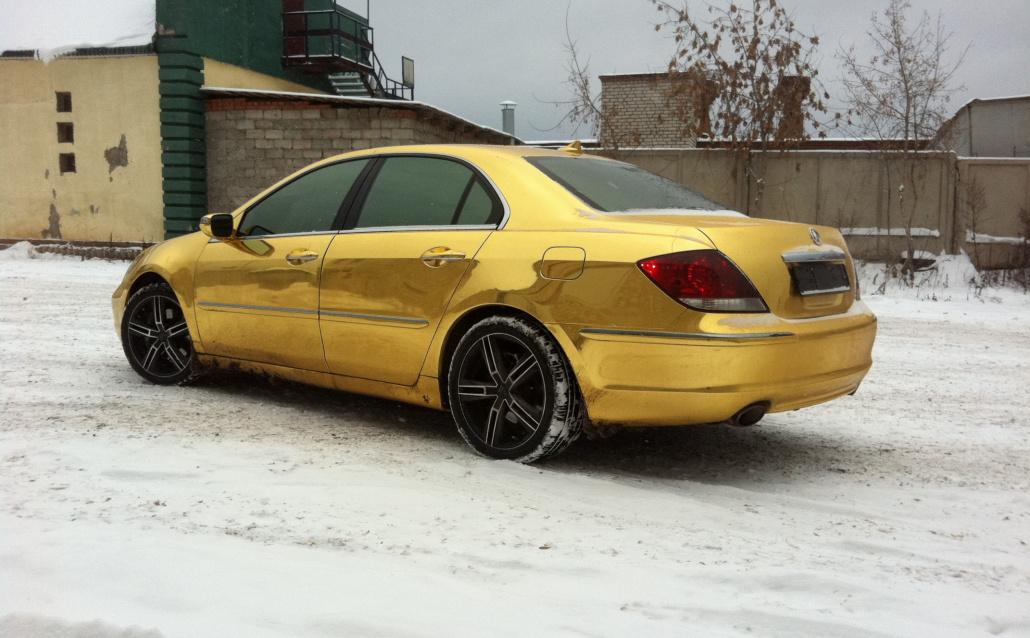 Acura RL Gold