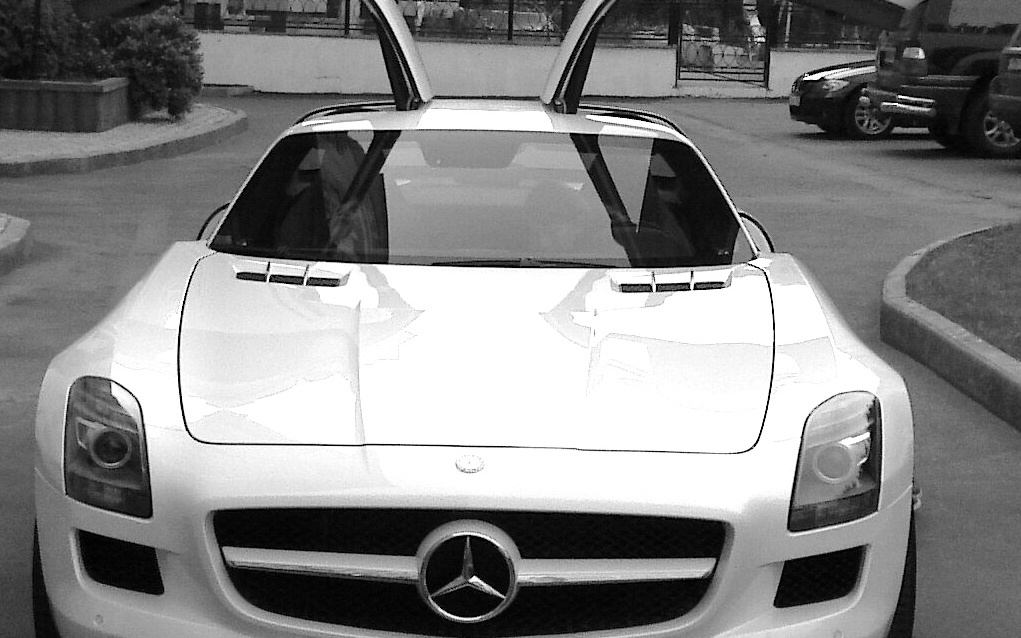 Mercedes-Benz SLS AMG (C197) 4aika