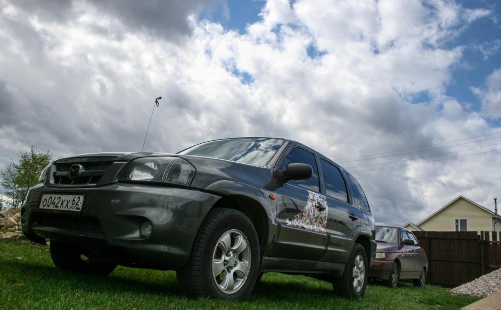Mazda Tribute 3L Хочу турбину