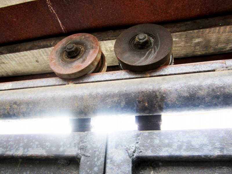 (комплектующие) для откатных ворот, ролики откатных ворот 29
