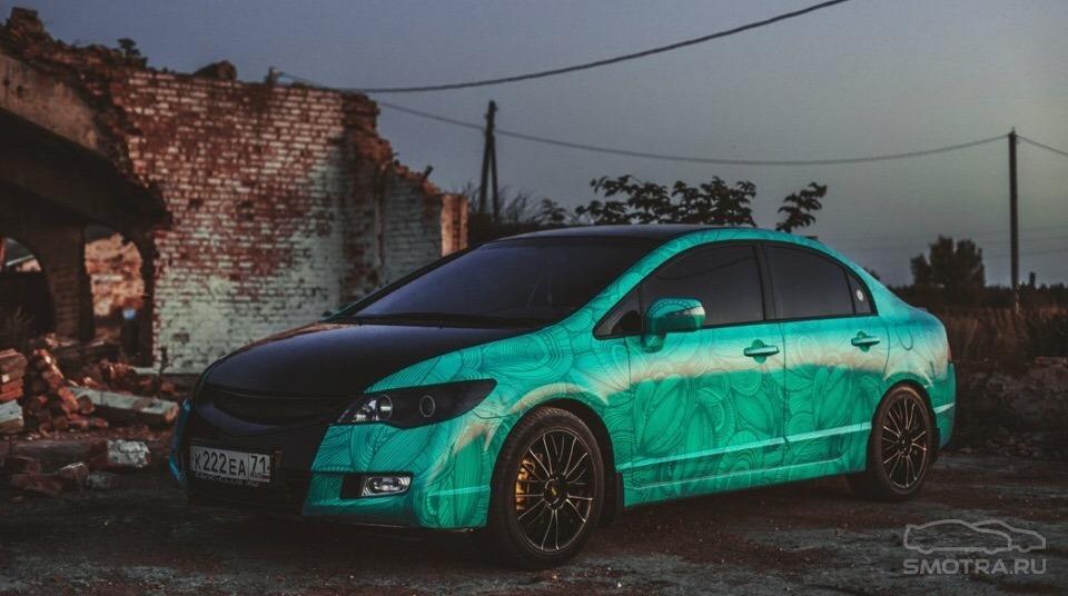 Honda Civic VIII #El malvado de menta