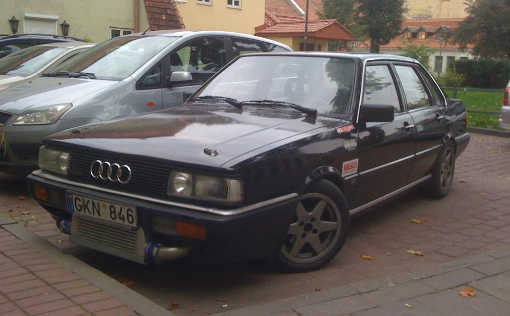 Audi 90 (81,85) Audi 90 Turbo Quattro