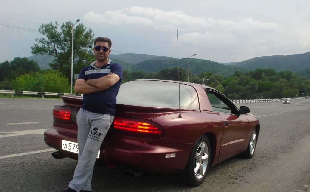 Pontiac Firebird IV КАПИТАН АМЕРИКА