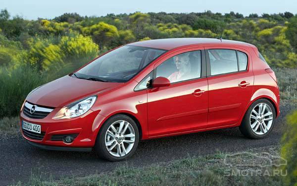 Opel corsa twinport фото