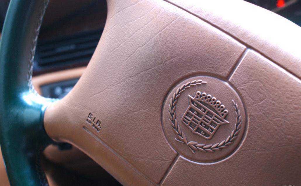 Cadillac Seville грязный кэди