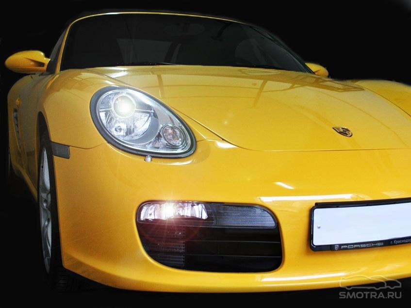 Porsche Boxster (987) Желтый