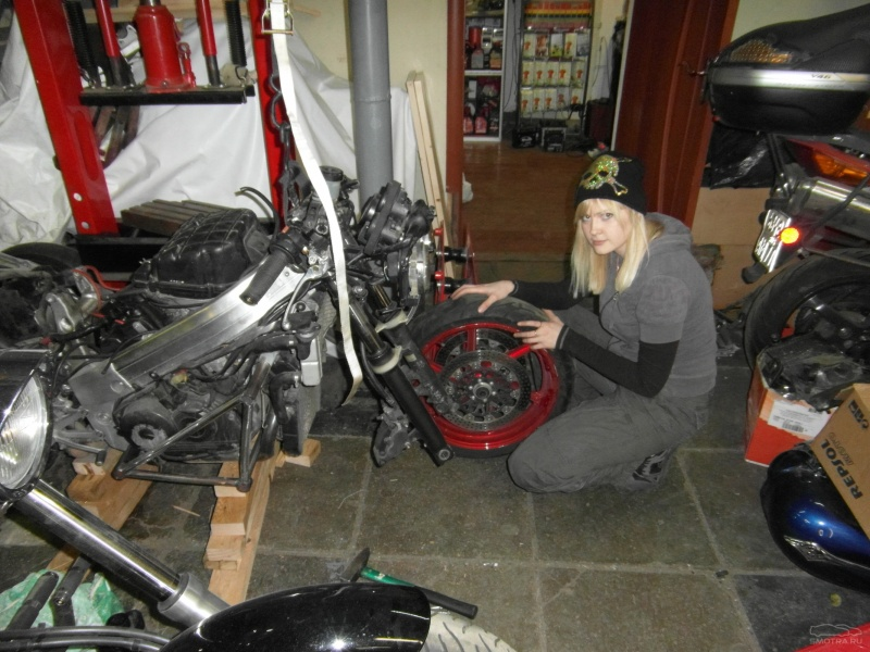Покраска мотоциклов своими руками
