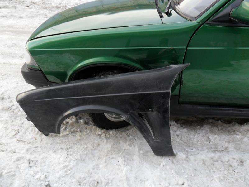 Пластиковые крылья на авто