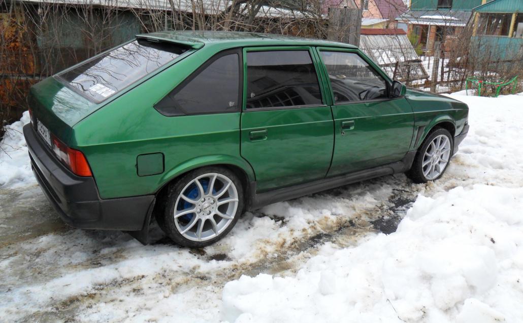 Москвич (АЗЛК) 214145 Зеленый