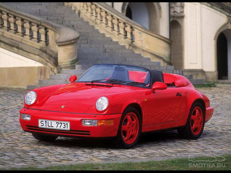 Porsche 911 Cabrio (964) крошка