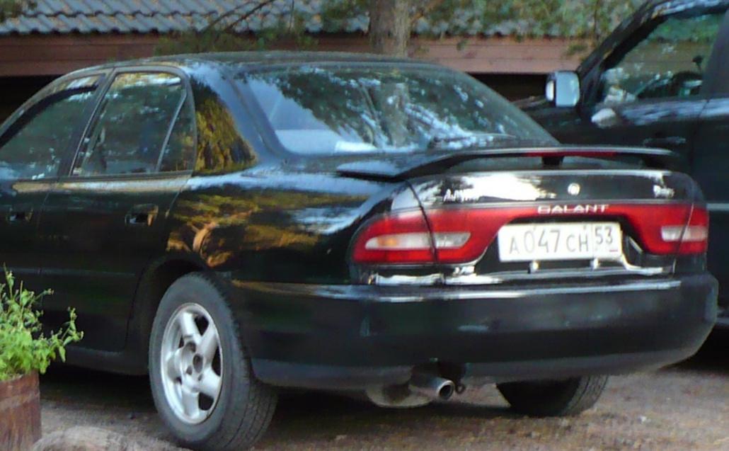 Mitsubishi Galant VII Мустанг