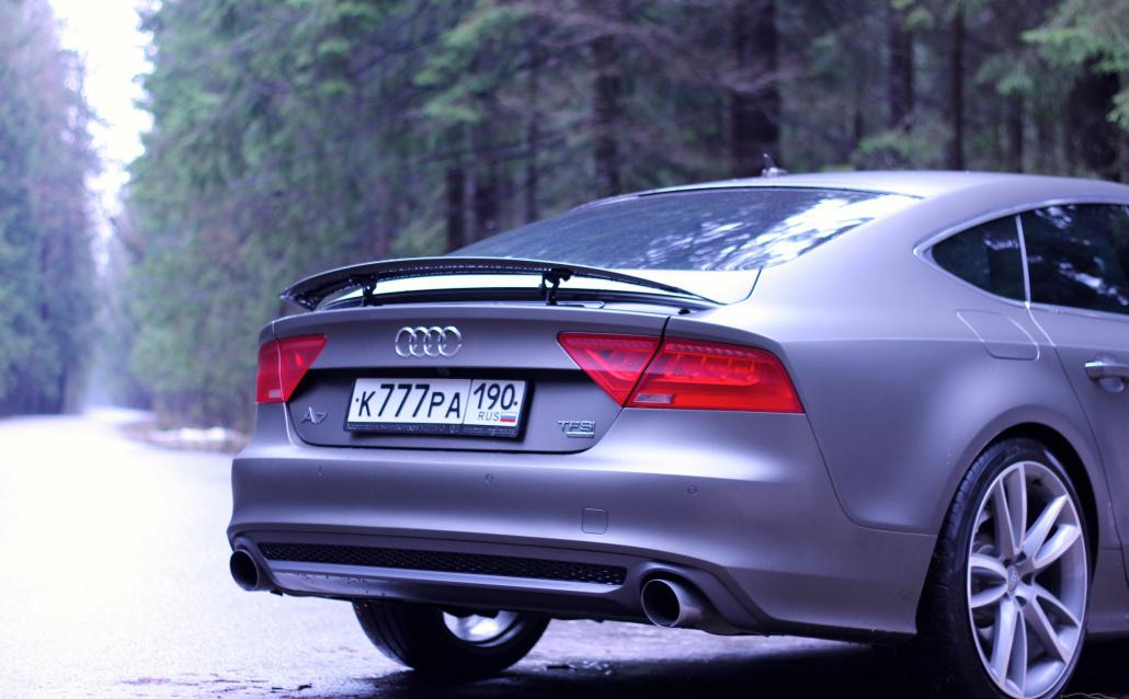 Audi A7 Sportback Технология Стелс